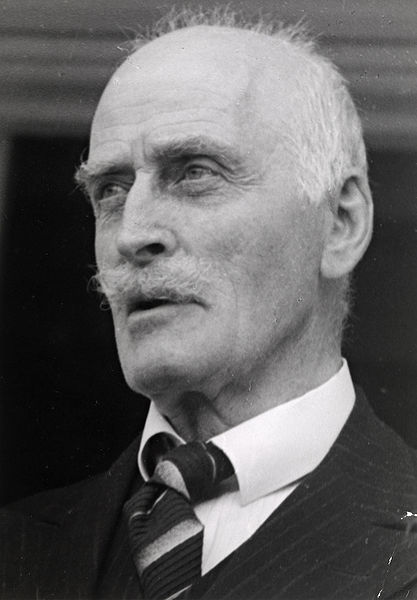 Click photo to download. Caption: Current tensions over Norwegian attitudes toward the Holocaust first emerged three years ago, when the Norwegian government launched a yearlong celebration of the life and work of Knut Hamsun (pictured), a Nobel Prize-winning novelist who supported the Nazis. Credit: Anders Beer Wilse.