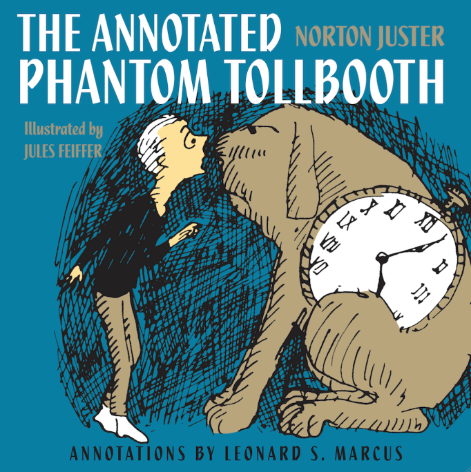"Click photo to download. Caption: The cover of ""The Phantom Tollbooth."" Credit: Random House."
