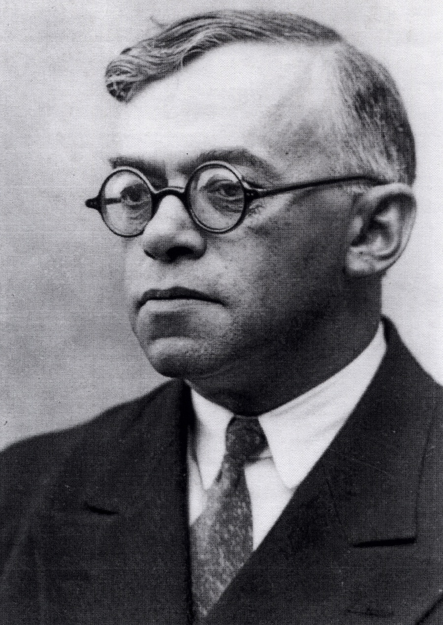Click photo to download. Caption: Ze'ev Jabotinsky. Credit: Courtesy Rafael Medoff.