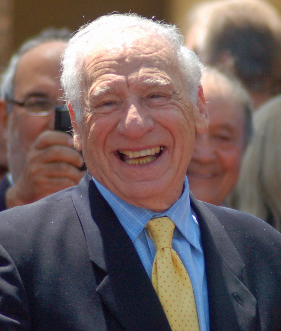 Click photo to download. Caption: Mel Brooks. Credit: Angela George.