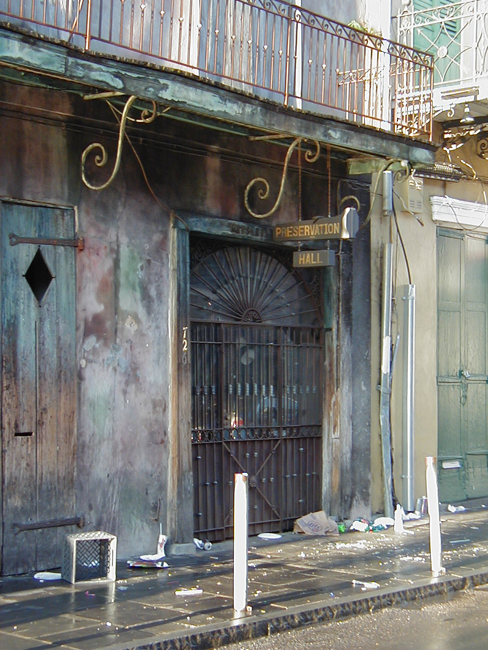 Click photo to download. Caption: Preservation Hall in New Orleans. Credit: CTLiotta.