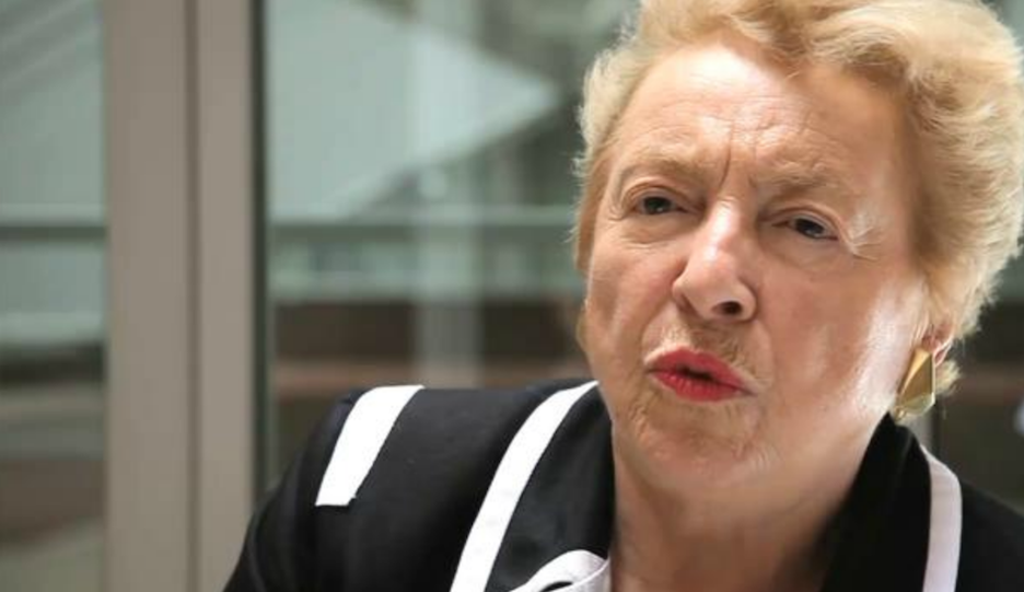 Click photo to download. Caption: Dame Stephanie Shirley. Credit: Vimeo.