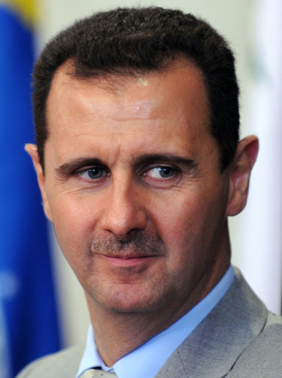 Click photo to download. Caption: Syria's Bashar al-Assad. Credit: Wikimedia Commons.