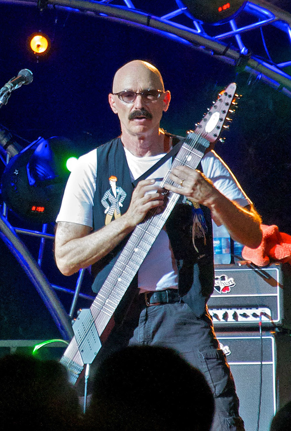 Click photo to download. Caption: Tony Levin. Credit: Goldmund100/Wikimedia Commons.