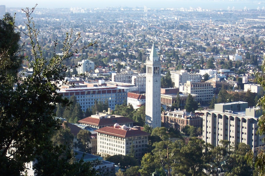 Click photo to download. Caption: The University of California-Berkeley campus. Credit: Wikimedia Commons.