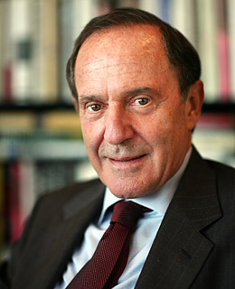 Click photo to download. Caption: Mort Zuckerman. Credit: PD-US.