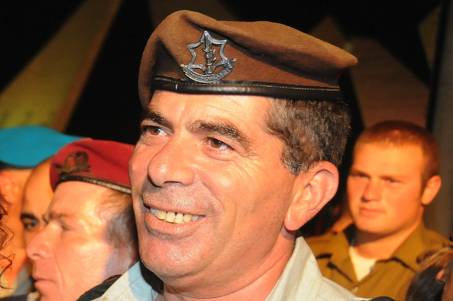 Click photo to download. Caption: Lt. Gen. (res.) Gabi Ashkenazi, the IDF Chief of Staff who according to The New Yorker recommended making a strike on a Syrian nuclear reactor in 2007, says he heard about his involvement through the media. Credit: IDF.
