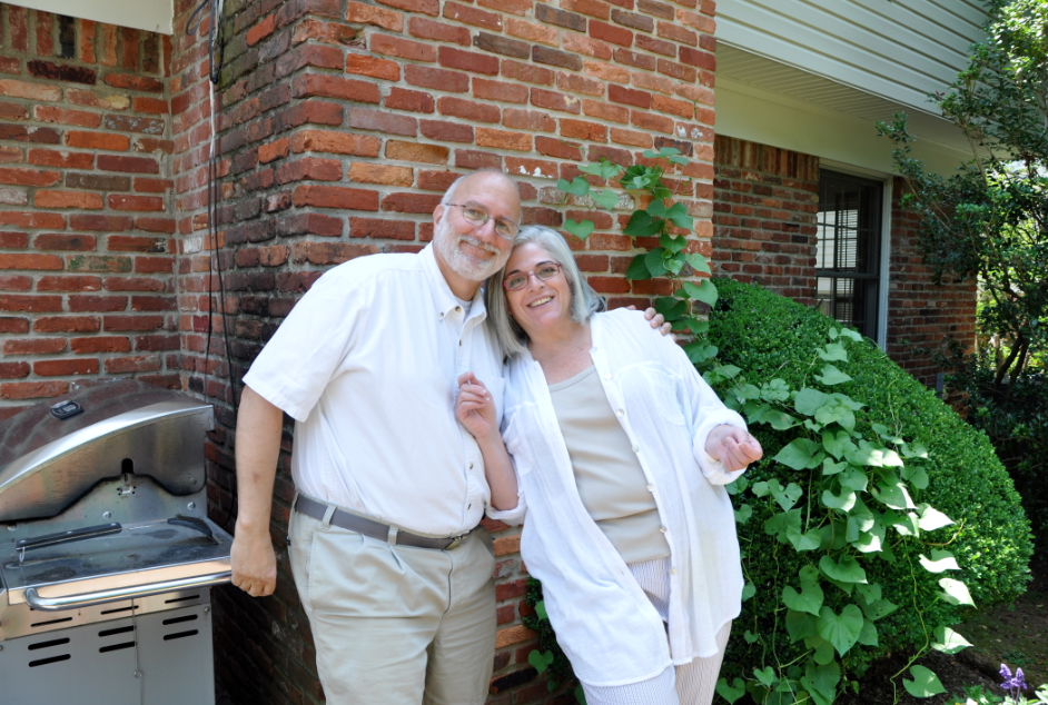 Click photo to download. Caption: Alan Gross and his wife Judy. Credit: Gross family.