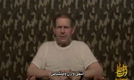 Click photo to download. Caption: Warren Weinstein. Credit: YouTube.