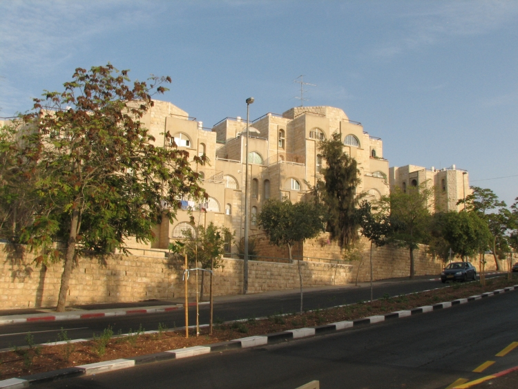 Click photo to download. Caption: A street in the Jerusalem neighborhood of Glio, where the European Union has criticized Jewish construction. Credit: Wikimedia Commons.