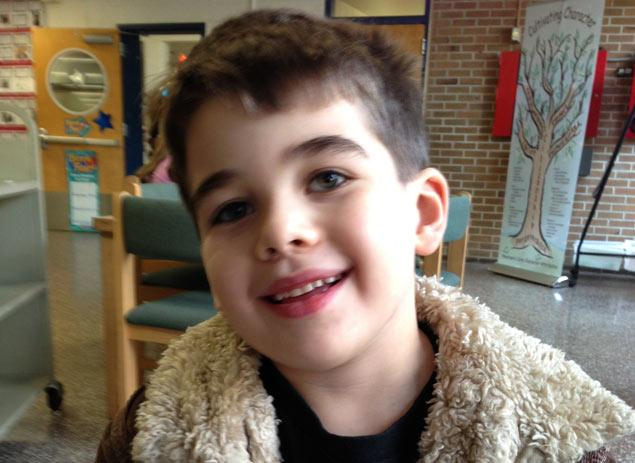 Click photo to download. Caption: Six-year-old Noah Pozner, the youngest victim of the Newtown, Conn., school shooting. Credit: Connecticut Jewish Ledger