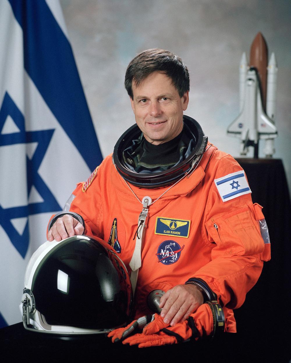 Click photo to download. Caption: The late Israeli astronaut Ilan Ramon. Credit: NASA.