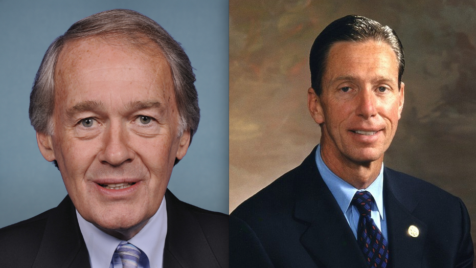 Click photo to download. Caption: U.S. Reps. Ed Markey (left) and Stephen Lynch, who are running for Secretary of State Jon Kerry's vacated Senate seat in Massachusetts. Credit: U.S. House of Representatives.