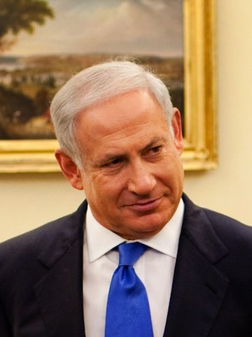 "Israeli Prime Minister Benjamin Netanyahu said the Israeli-Palestinian conflict ""isn't about territory."" Credit: Wikimedia Commons."