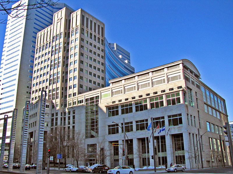 Click photo to download. Caption: World headquarters of the International Civil Aviation Organization in Montreal, Canada. Credit: Wikimedia Commons.