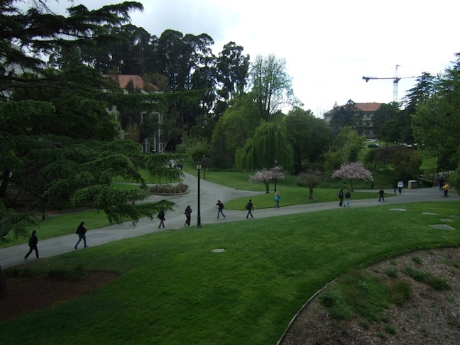 Click photo to download. Caption: The campus of the University of California, Berkeley, where an Israel divestment measure passed in the school's student government in April. Credit: Wikimedia Commons.