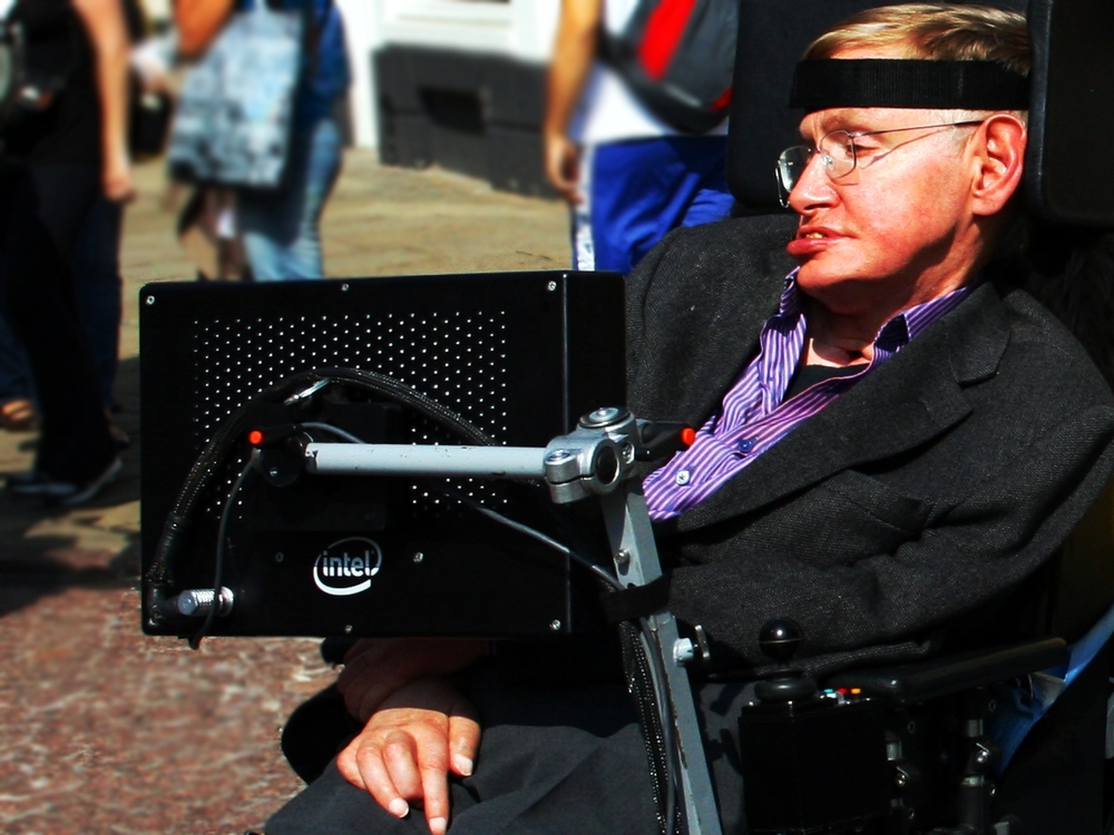 Stephen Hawking. Credit: Wikimedia Commons.