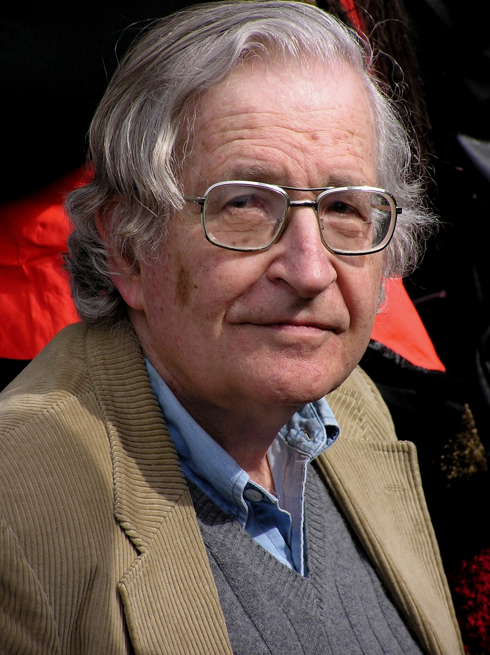 Noam Chomsky. Credit: Wikimedia Commons.