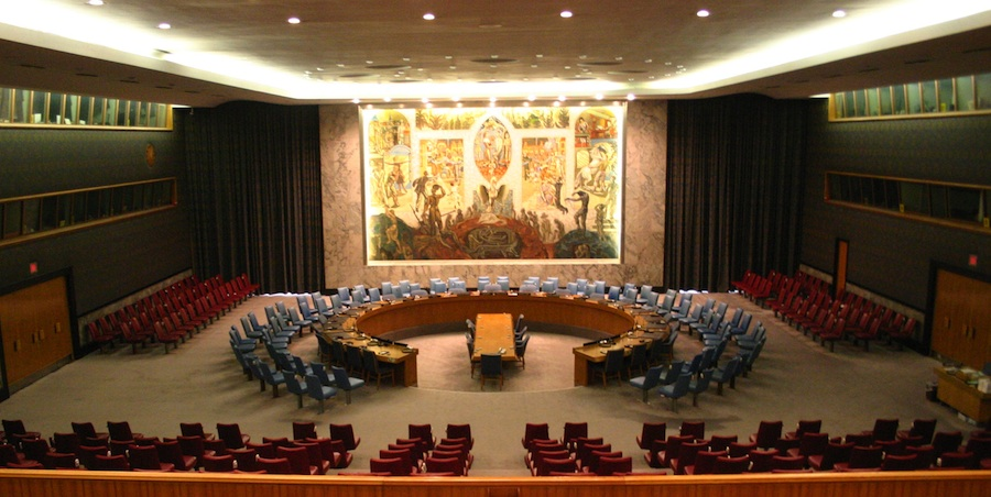 The UN Security Council Chamber. Credit: Patrick Gruban.