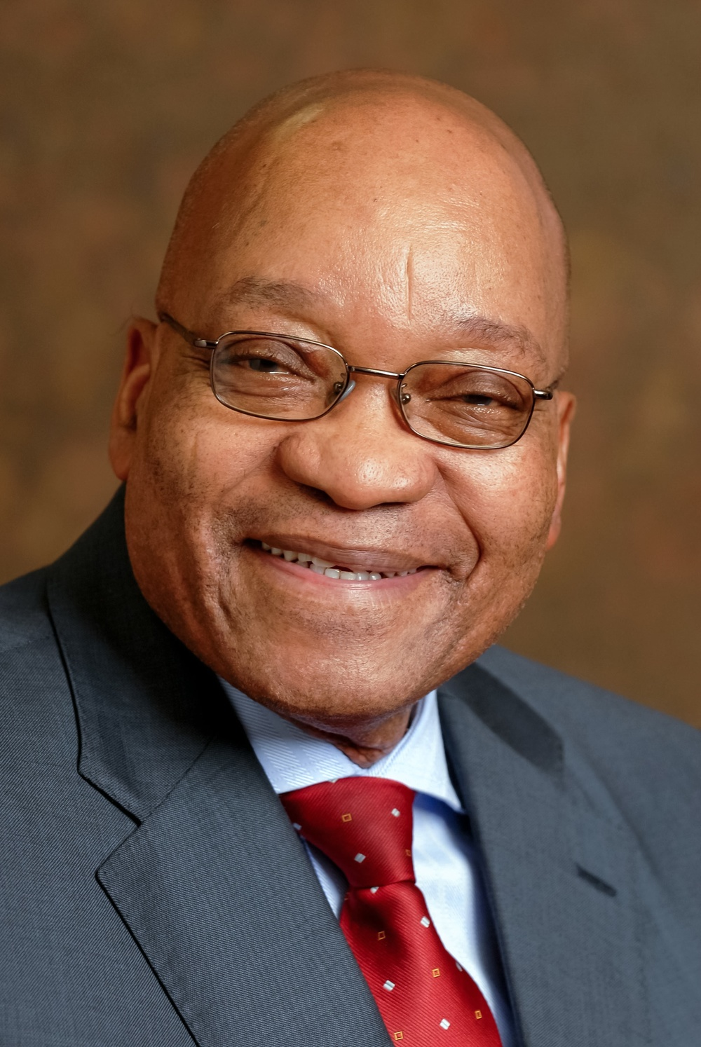 "Click photo to download. Caption: Reverend Kenneth Meshoe characterizes Jacob Zuma, pictured, the president of South Africa, and his ruling African National Congress party as ""bullies"" for their anti-Israel attitudes. Credit: www.gcis.gov.za/Wikimedia Commons."