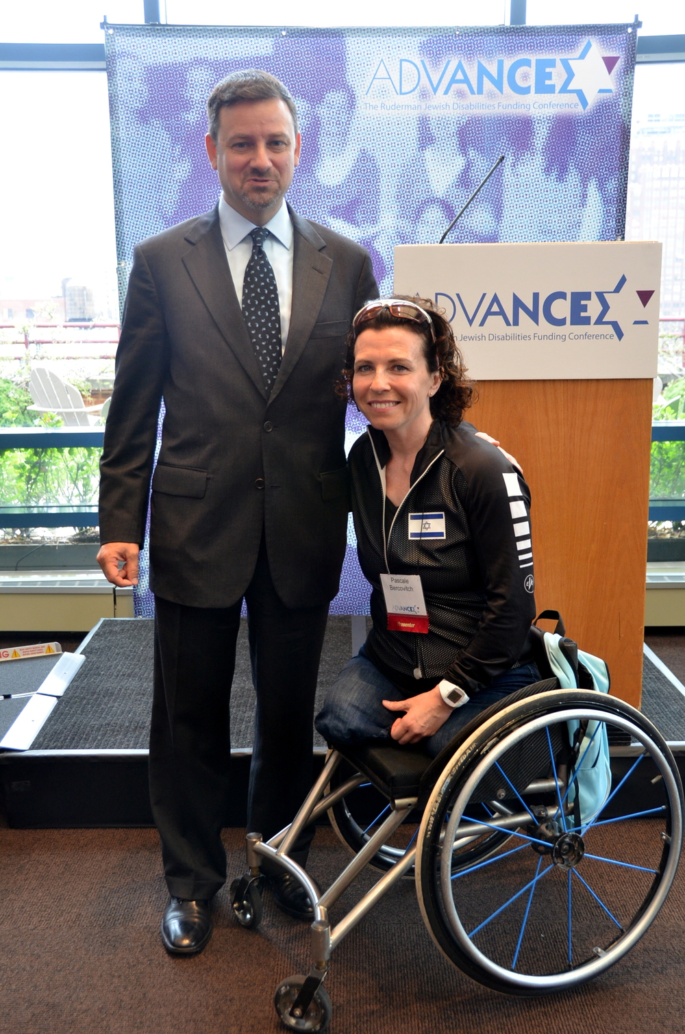 "Click photo to download. Caption: Jay Ruderman (left), president of the Ruderman Family Foundation, with Israeli Paralympic athlete Pascale Bercovitch on May 8 at ADVANCE: The Ruderman Jewish Disabilities Funding Conference, which focused on inclusion of people with disabilities in Jewish communal life. Credit: Maxine Dovere.                 0     0     1     9     52     JNS     1     1     60     14.0                            Normal     0                     false     false     false         EN-US     JA     X-NONE                                                                                                                                                                                                                                                                                                                                                                                                                                                                                                                                                                                                                                                                                                                            /* Style Definitions */ table.MsoNormalTable 	{mso-style-name:""Table Normal""; 	mso-tstyle-rowband-size:0; 	mso-tstyle-colband-size:0; 	mso-style-noshow:yes; 	mso-style-priority:99; 	mso-style-parent:""""; 	mso-padding-alt:0in 5.4pt 0in 5.4pt; 	mso-para-margin:0in; 	mso-para-margin-bottom:.0001pt; 	mso-pagination:widow-orphan; 	font-size:12.0pt; 	font-family:Cambria; 	mso-ascii-font-family:Cambria; 	mso-ascii-theme-font:minor-latin; 	mso-hansi-font-family:Cambria; 	mso-hansi-theme-font:minor-latin;}                              0     0     1     9     49     JNS     1     1     57     14.0                            Normal     0                     false     false     false         EN-US     JA     X-NONE                                                                                                                                                                                                                                                                                                                                                                                                                                                                                                                                                                                                                                                                                                                            /* Style Definitions */ table.MsoNormalTable 	{mso-style-name:""Table Normal""; 	mso-tstyle-rowband-size:0; 	mso-tstyle-colband-size:0; 	mso-style-noshow:yes; 	mso-style-priority:99; 	mso-style-parent:""""; 	mso-padding-alt:0in 5.4pt 0in 5.4pt; 	mso-para-margin:0in; 	mso-para-margin-bottom:.0001pt; 	mso-pagination:widow-orphan; 	font-size:12.0pt; 	font-family:Cambria; 	mso-ascii-font-family:Cambria; 	mso-ascii-theme-font:minor-latin; 	mso-hansi-font-family:Cambria; 	mso-hansi-theme-font:minor-latin;}                              0     0     1     10     54     JNS     1     1     63     14.0                            Normal     0                     false     false     false         EN-US     JA     X-NONE                                                                                                                                                                                                                                                                                                                                                                                                                                                                                                                                                                                                                                                                                                                            /* Style Definitions */ table.MsoNormalTable 	{mso-style-name:""Table Normal""; 	mso-tstyle-rowband-size:0; 	mso-tstyle-colband-size:0; 	mso-style-noshow:yes; 	mso-style-priority:99; 	mso-style-parent:""""; 	mso-padding-alt:0in 5.4pt 0in 5.4pt; 	mso-para-margin:0in; 	mso-para-margin-bottom:.0001pt; 	mso-pagination:widow-orphan; 	font-size:12.0pt; 	font-family:Cambria; 	mso-ascii-font-family:Cambria; 	mso-ascii-theme-font:minor-latin; 	mso-hansi-font-family:Cambria; 	mso-hansi-theme-font:minor-latin;}"