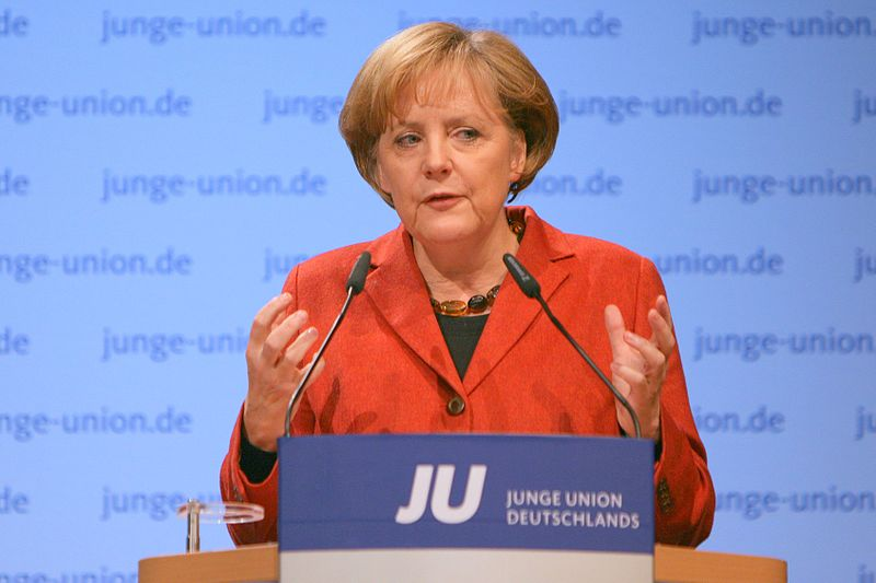 Click photo to download. Caption: German Chancellor Angela Merkel. Credit: Jacques Grießmayer via Wikimedia Commons.