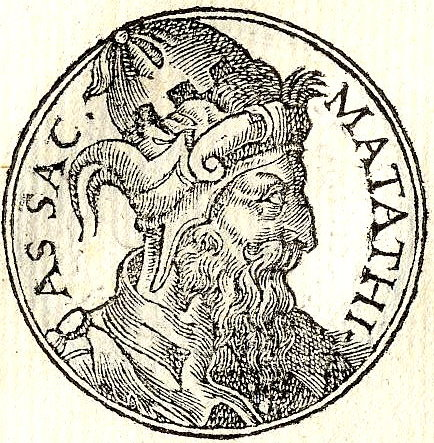 Click photo to download. Caption: Mattathias, who led the Maccabees in revolt. Credit: PD