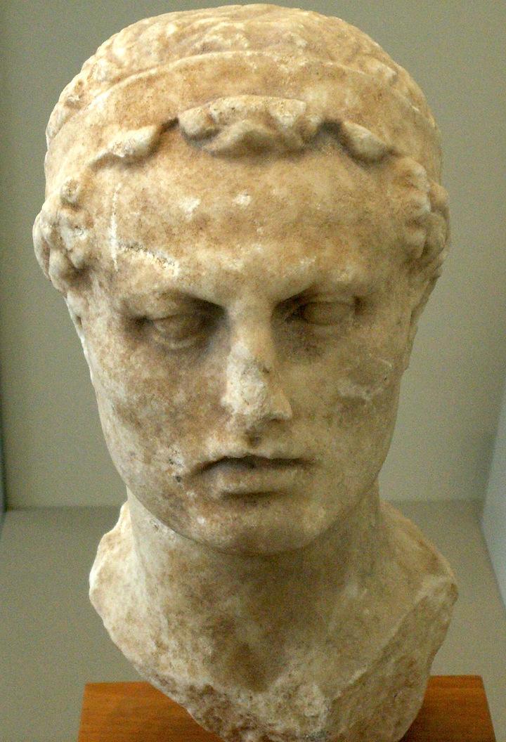 Click photo to download. Seleucid Kind Antiochus. Credit: Jniemenmaa