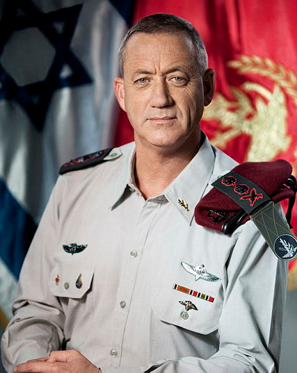 "IDF Chief of Staff Benny Gantz, pictured, said that while Israel has sent messages that it will not permit advanced weapons to be transferred from Syria to Lebanon, ""our inclination is to cool the atmosphere."""