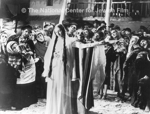 "Click photo to download. Caption: A scene from ""The Dybbuk."" Credit: Courtesy of The National Center for Jewish Film, www.jewishfilm.org."