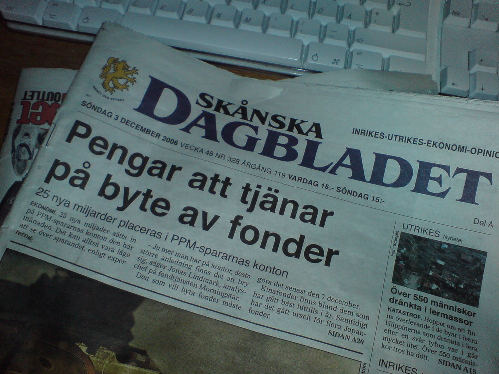Click photo to download. Caption:  Norwegian newspaper Dagbladet may face legal action over a cartoon that depicted circumcision in a hateful manner, the European Jewish Congress said. Credit: Karl Baron via Flickr.com.
