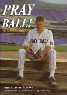 Click photo to download. Caption: For the sports-lover dad this Father's Day, consider buying a copy ofPray Ball! The Spiritual Insights of a Jewish Sports Fan. Credit: MyJewishLearning.com.