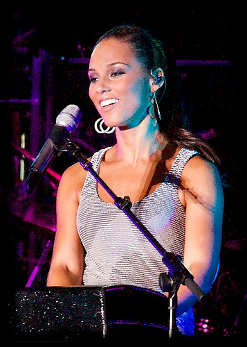 Alicia Keys. Credit: Wikimedia Commons.