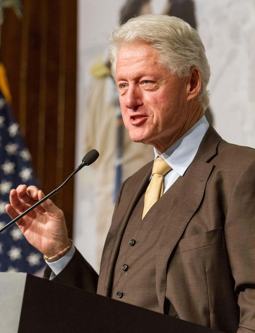 Bill Clinton in February 2013. Credit: U.S. Department of Labor.