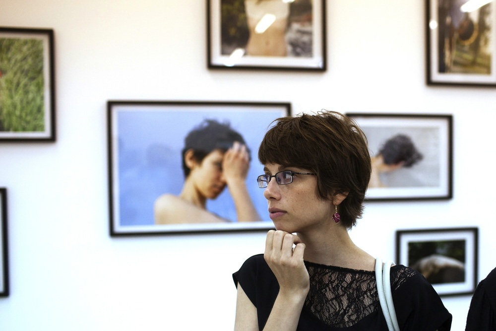 Neta Dror, pictured, a Jerusalem-based photographer and advisor for the Arthur Szyk Prize of Disruptive Thought and Zionist Art project, says the prize is not an attempt at hasbara (public diplomacy) for Israel, a charge she is sure will be made by Israeli art critics. Credit: Menahem Kahana.