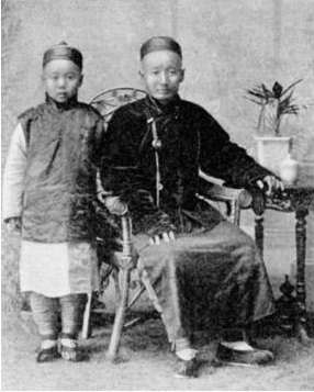 Click photo to download. Caption: The Jews of K'ai-Fun-Foo (Kaifeng Subprefecture), China. Credit: Wikimedia Commons.