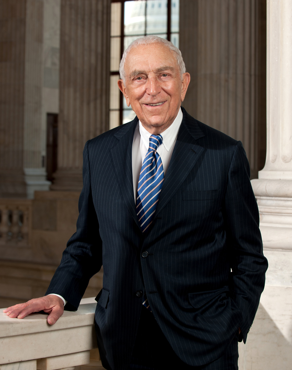 Click photo to download. Caption: The late Senator Frank Lautenberg. Credit: United States Senate.
