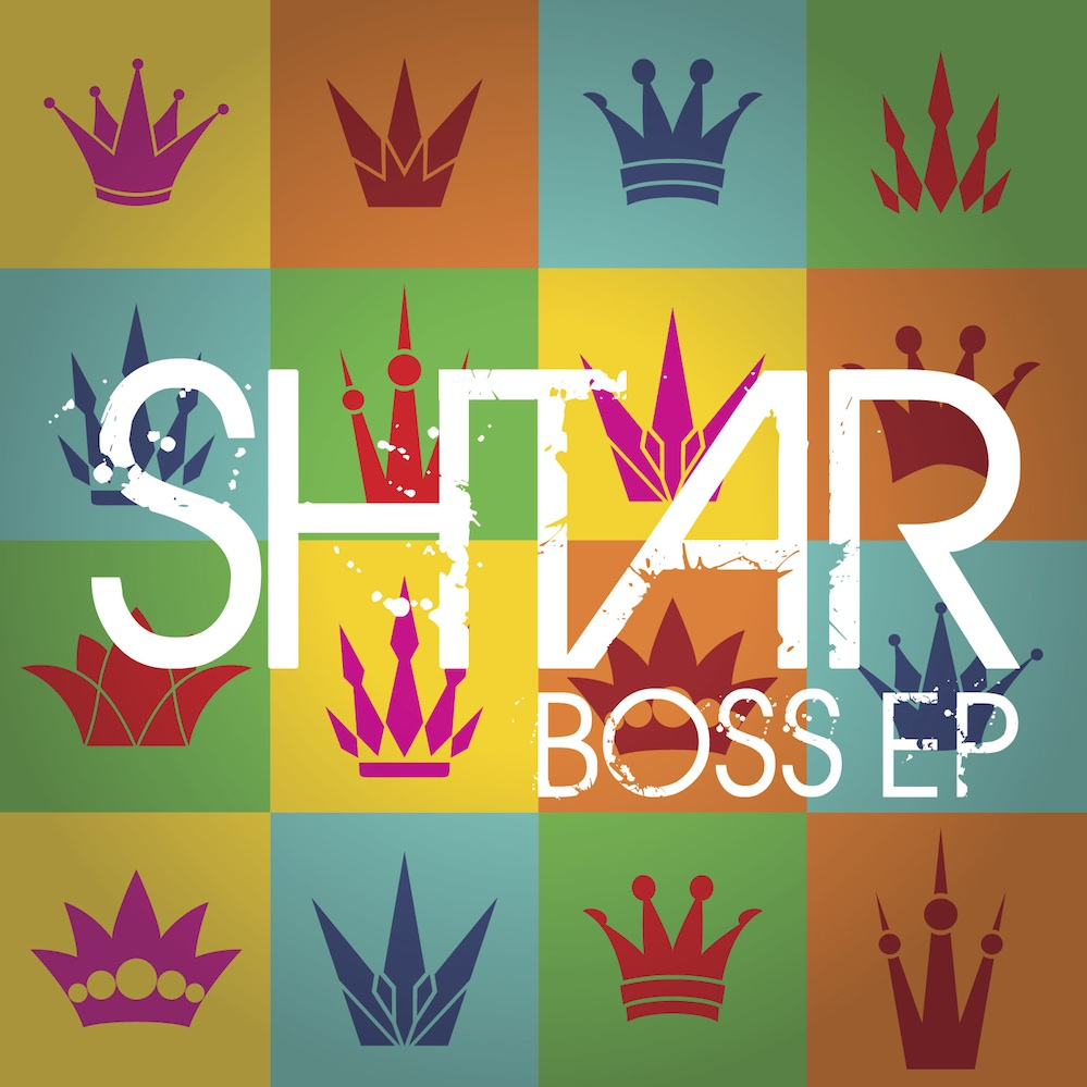"Click photo to download. Caption: The cover of Shar's new forthcoming EP, ""Boss."" Credit: Courtesy Shtar."