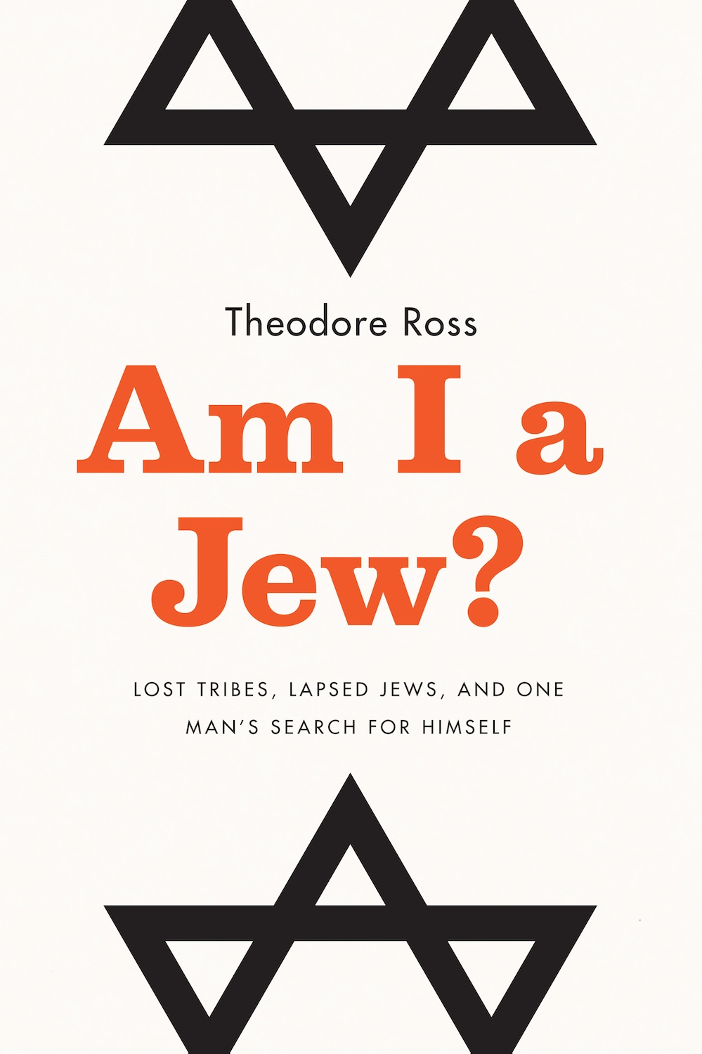 "Click photo to download. Caption: The cover of ""Am I a Jew?"" Credit: Plume & Hudson Street Press."