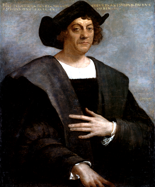 Click photo to download. Caption: Some scholars believe Christopher Columbus (pictured) was a Jew. Credit: Sebastiano del Piombo.