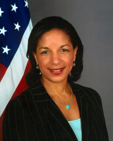 Susan Rice, who was appointed as National Security Advisor.