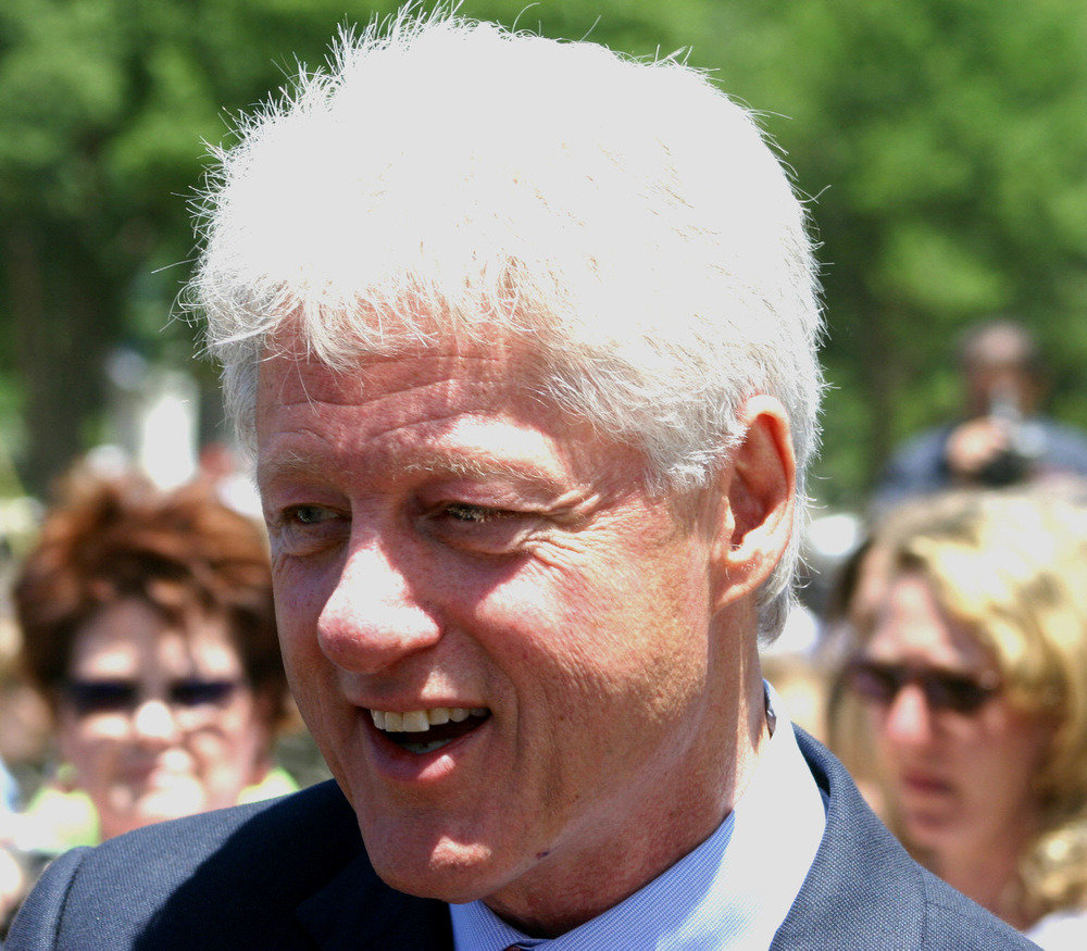 Former President Bill Clinton. Credit: Wikimedia Commons.