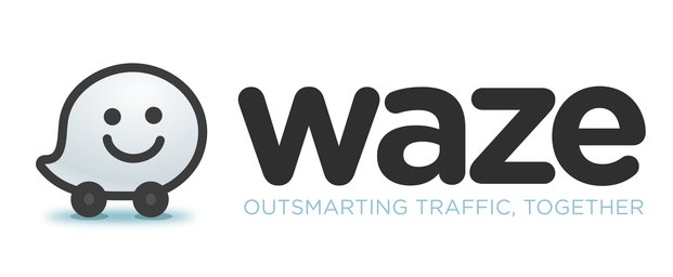 The Waze logo. Credit: Waze.