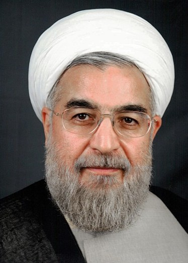Click photo to download. Caption: Iran president-elect Hassan Rohani. Credit: Wikimedia Commons.