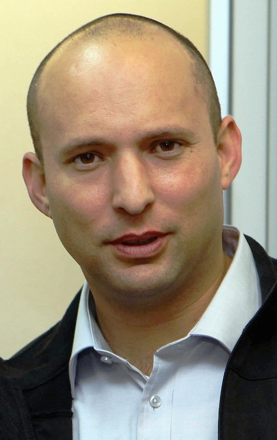 "Naftali Bennett, pictured, condemned ""price tag"" attacks. Credit: Wikimedia Commons."