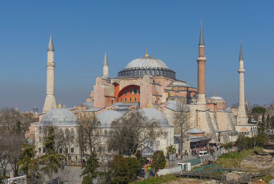The Hagia Sophia. Credit: Arild Vågen.