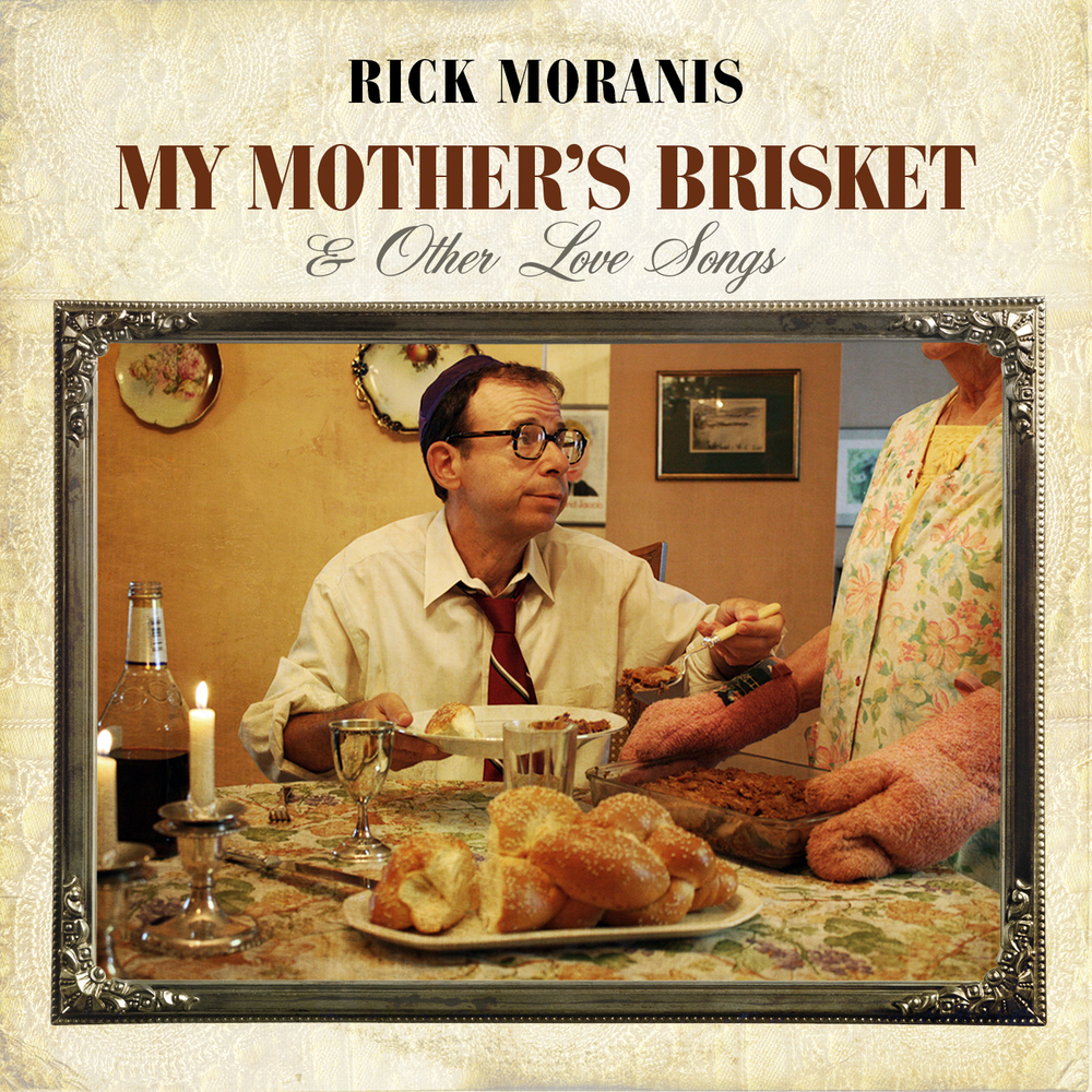 "Click photo to download. Caption: The cover of ""My Mother's Brisket & Other Love Songs,"" the new album by Rick Moranis. Credit: Warner Bros. Records."