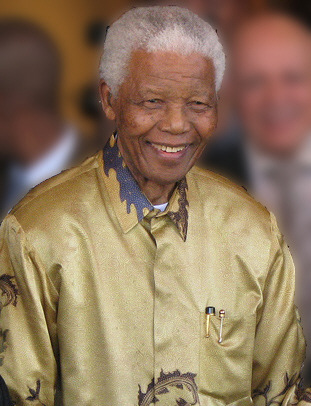 Click photo to download. Caption: Nelson Mandela in 2008. Credit: South Africa The Good News.