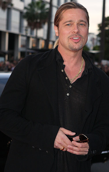 Click photo to download. Caption Actor Brad Pitt arrives on the red carpet in Sydney, Australia for the World War Z premiere in June 2013. Credit: Eva Rinaldi viaWikimedia Commons.