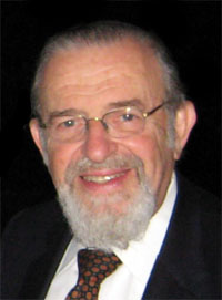Rabbi Norman Lamm has stepped down as Yeshiva University chancellor. Credit: Wikimedia Commons.